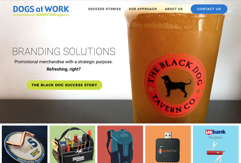 Dogs at Work | Sample of Our Work