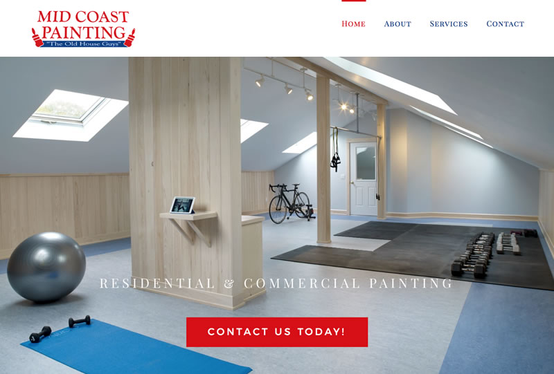 Midcoast Painting | Sample of Our Work