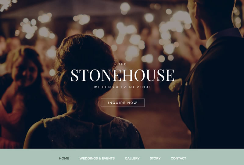 The Stonehouse Wedding & Event Venue | Sample of Our Work