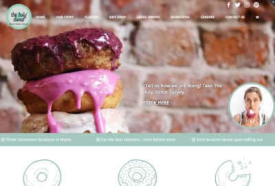 The Holy Donut | Sample of Our Work