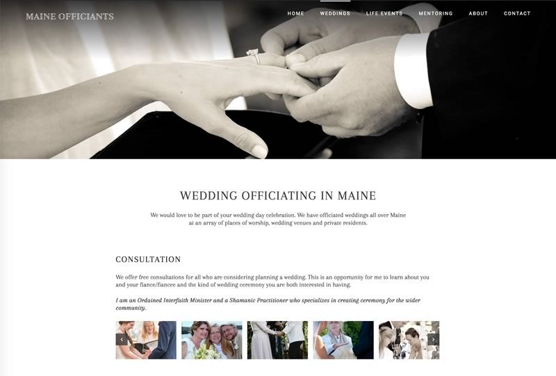 Maine Officiants @ MaineOfficiants.com